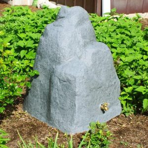 Rain Wizard 42 Gallon Rock Rain Barrel