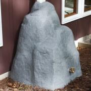 Rain Wizard 42 Gallon Rock Rain Barrel kit