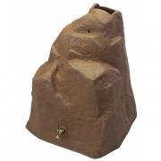 Rain Wizard 42 Gallon Rock Rain Barrel red brick
