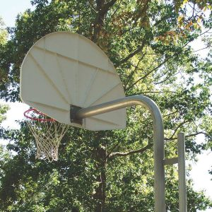 Reinforced Bent Post Basketball Backstop Kit