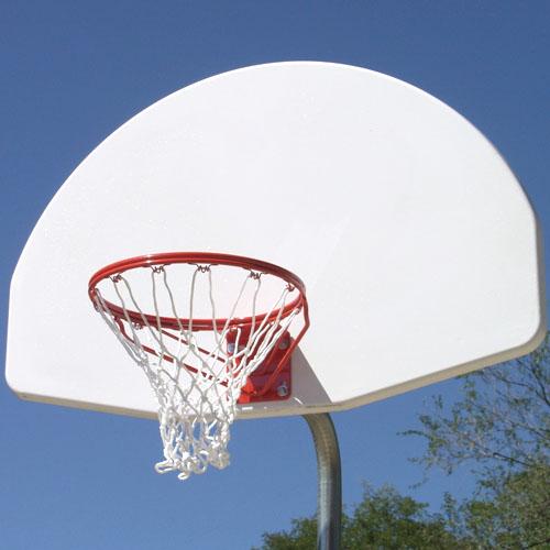 Reinforced Bent Post Basketball Goal