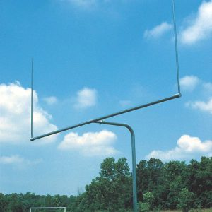Single Post Pitch Fork Football Goal 10Ft Uprights