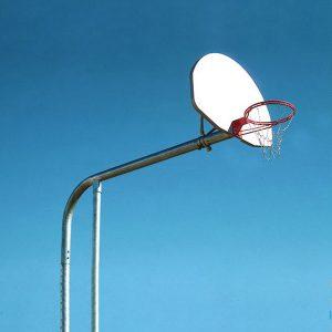Tandem 6 Basketball Backstop