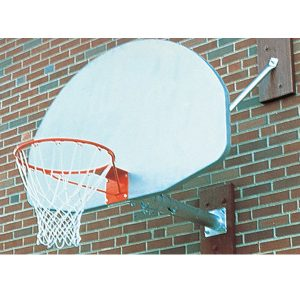 Wall-Mounted Basketball Backstop