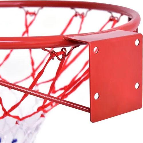 Wall-Mounted Basketball Backstop Net