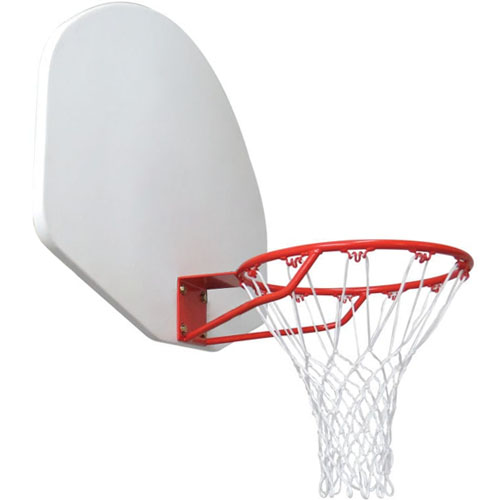 Wall-Mounted Basketball Goal