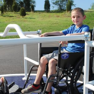 Wheelchair Accessible Merry Go Round Access