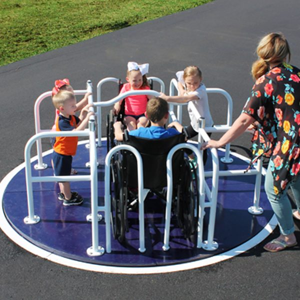 Wheelchair Accessible Merry Go Round Kit