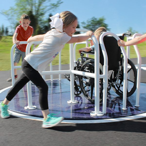 Wheelchair Accessible Merry Go Round System