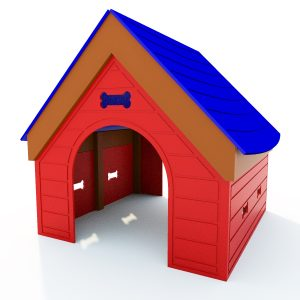 Paws Dog House Play Structure