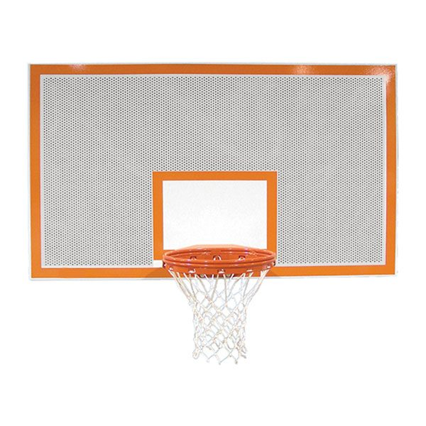 Rectangular Perforated Steel Backboard
