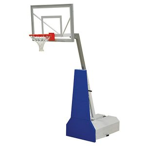 Adjustable Portable Basketball System With Acrylic Backboard