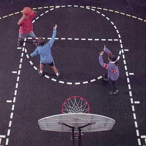Basketball Court Stencil Kit