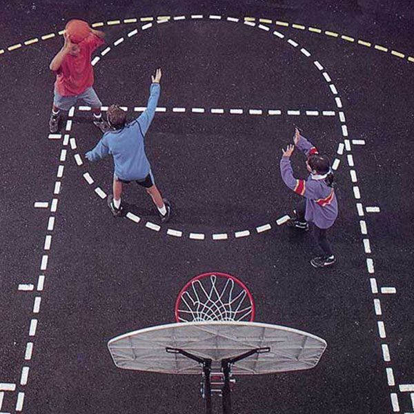 Basketball Court Stencil Kit