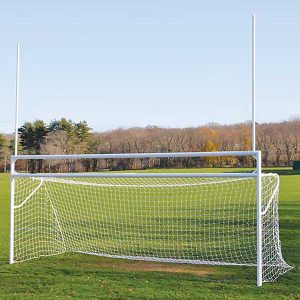 Deluxe Official Football/Soccer Goals Set With European Backstays