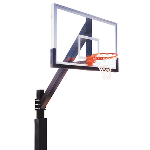 Playground Fixed Height Basketball System - Acrylic Backboard