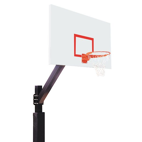 Playground Fixed Height Basketball System - Steel Backboard