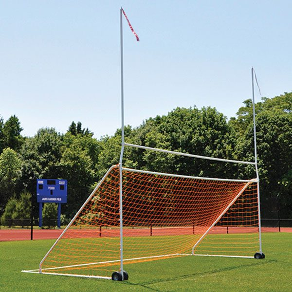 Portable Practice Football Soccer Combo Goal