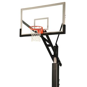 Titan CVX Adjustable Outdoor Basketball System