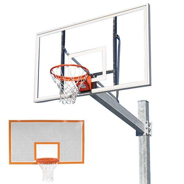 Titan Galvanized Post With Steel Perforated Backboard