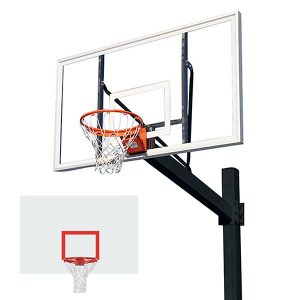 Titan Powder Coated Post With Steel Backboard