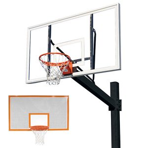 Titan Powder Coated Post With Steel Perforated Backboard