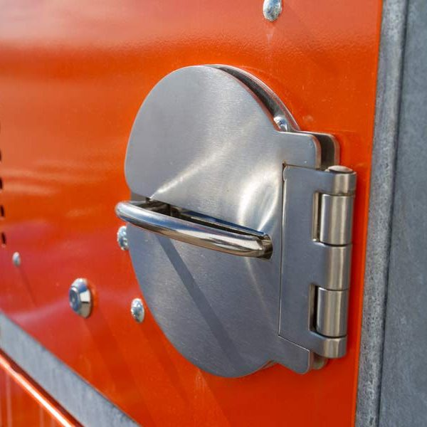two-tier bike locker padlock