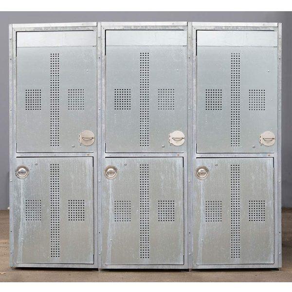 two-tier bike lockers