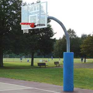 Ultimate Adjustable Gooseneck Basketball System
