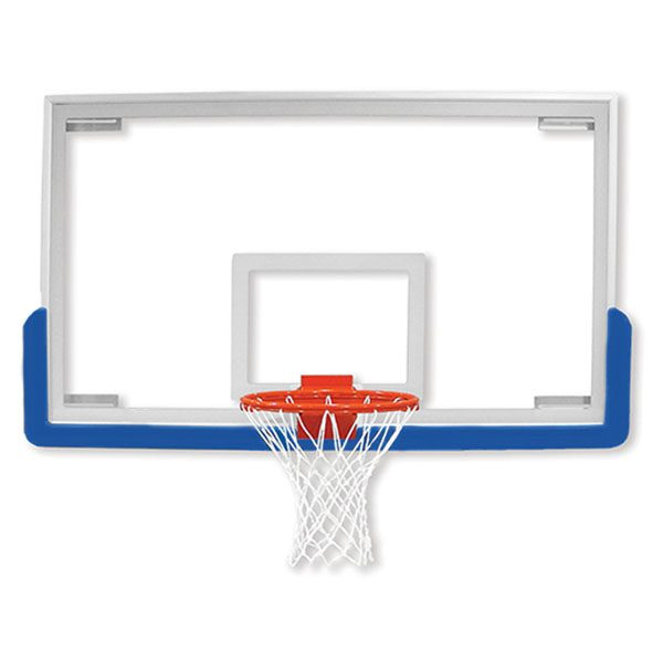Unbreakable Rectangular Glass Backboard