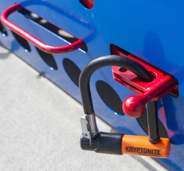 veloport bike locker padlock
