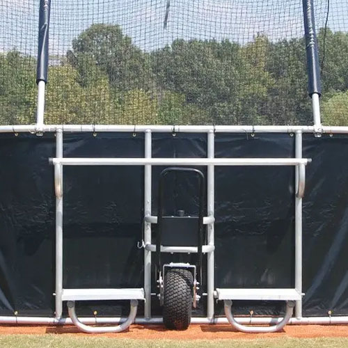 Batting Cage Viewing Stands