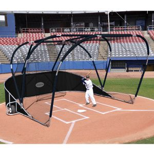 big league professional batting cage