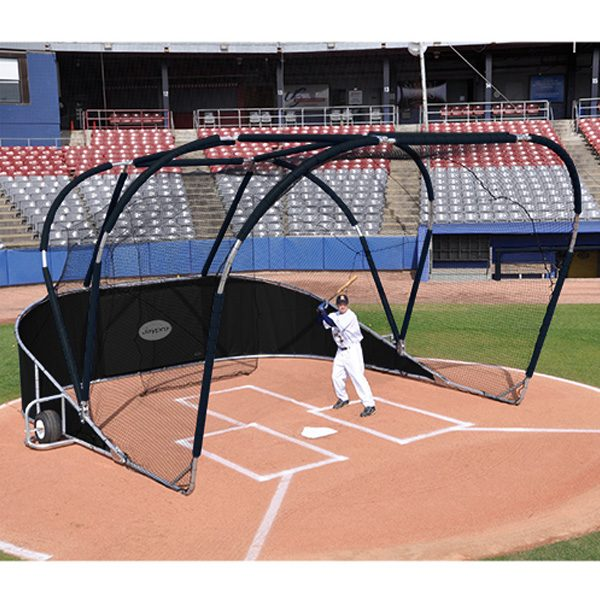 big league professional batting cage