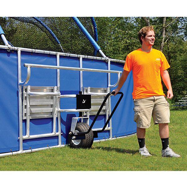 big league professional batting cage wheel
