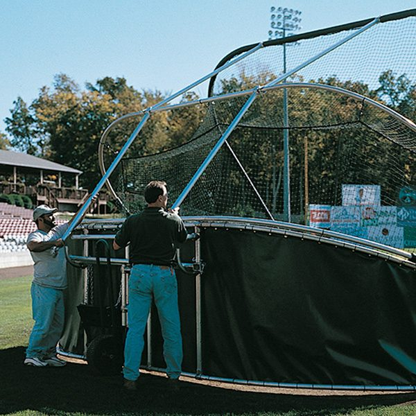 grand slam portable batting cage assembly