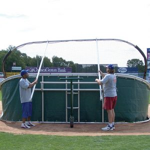 little slam portable batting cage optional skirt