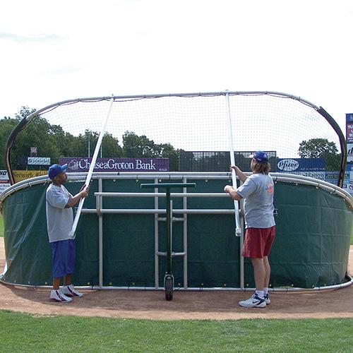 little slam portable batting cage optional skirt