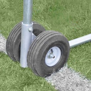 Portable Practice Football Goal Wheels