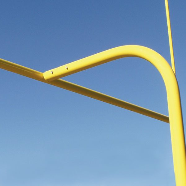 Steel Football Goal Post Crossbar, Goseneck And Uprights