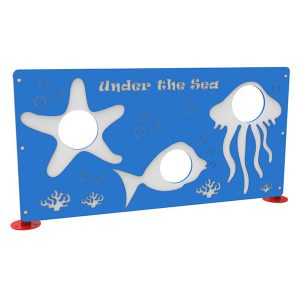 Under The Sea Dog Park Photo Booth Panel