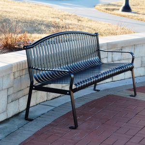 Thermoplastic Coated Park Benches