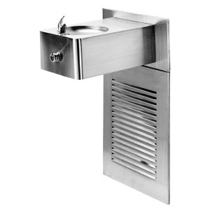 Push Button Stainless Steel Refrigerated Drinking Fountain