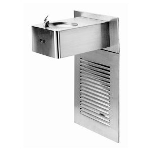 Sensor Operated Stainless Steel Drinking Fountain