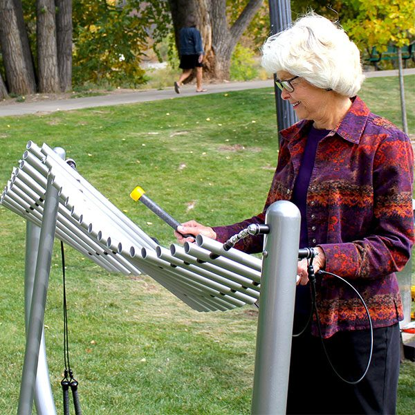 Manta Ray Musical Play Equipment