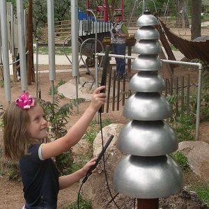 Pagoda Bells Musical Play Equipment