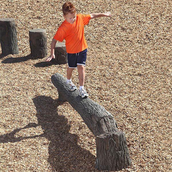8FT Fallen Tree Balance Beam