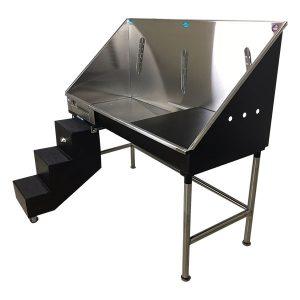 ADA Elite Pet Bathing Tub With Steps And Door