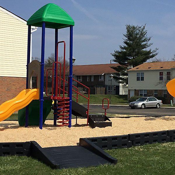 ADA Playground Half Ramp