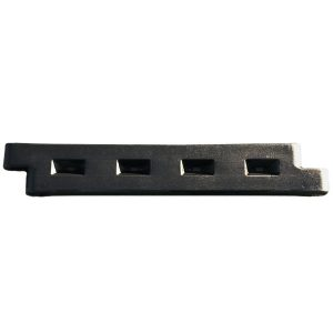 "8"" Plastic Playground Border - Black"